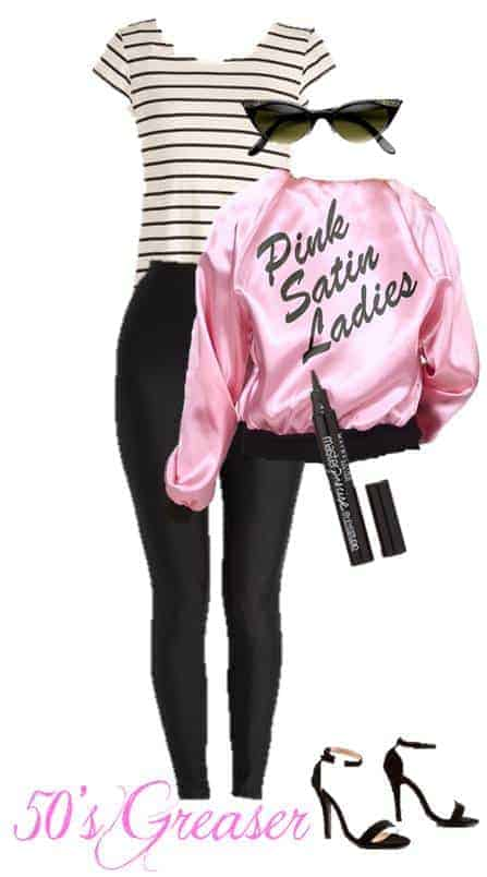 Quick 50s Greaser Halloween Costume Anyone Can Make From Their Closet