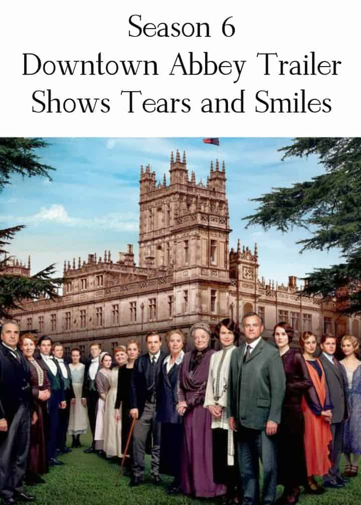 Downtown Abbey Trailer Season 6 preview promises loads of smiles and tears in the final season! I don't know if I'm ready to say goodbye!