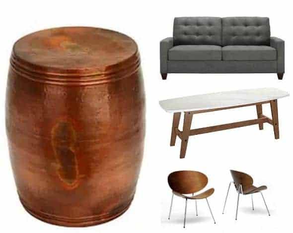 Furniture Home Decor Collage