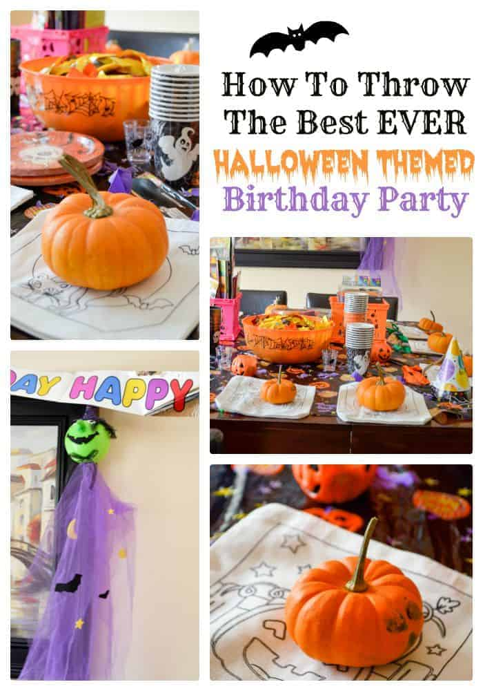 Fall babies have more fun! Check our or tips for planning the best ever Halloween Themed Birthday party for kids.