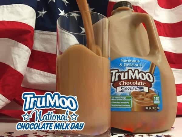 Celebrate National Chocolate Milk Day with these 7 delicious things that just taste better with TruMoo Chocolate Milk! No wonder it's America's #1 Chocolate Milk!