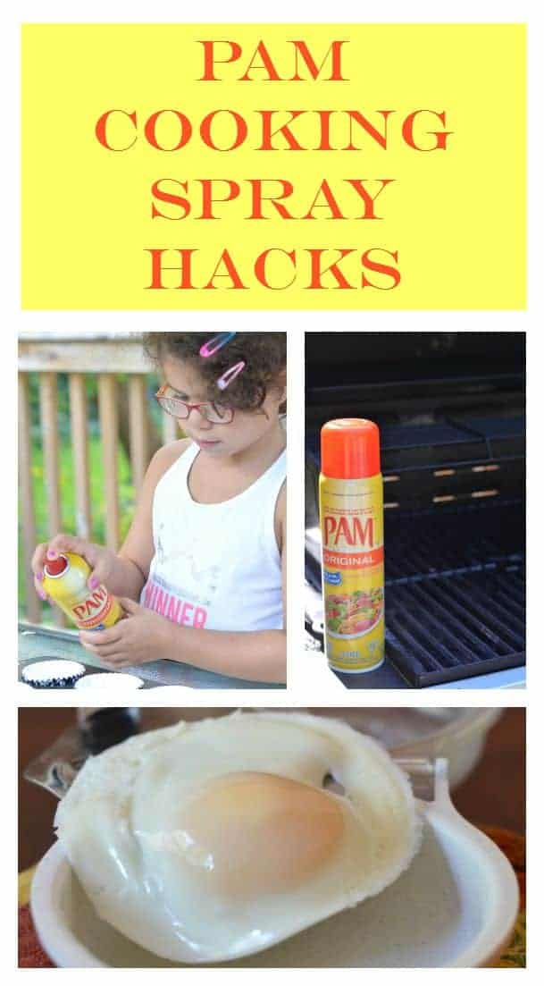 Looking for easy ways to save time in the kitchen every day? Check out these simple PAM Cooking Spray hacks that can shave minutes off prep & cleanup time!