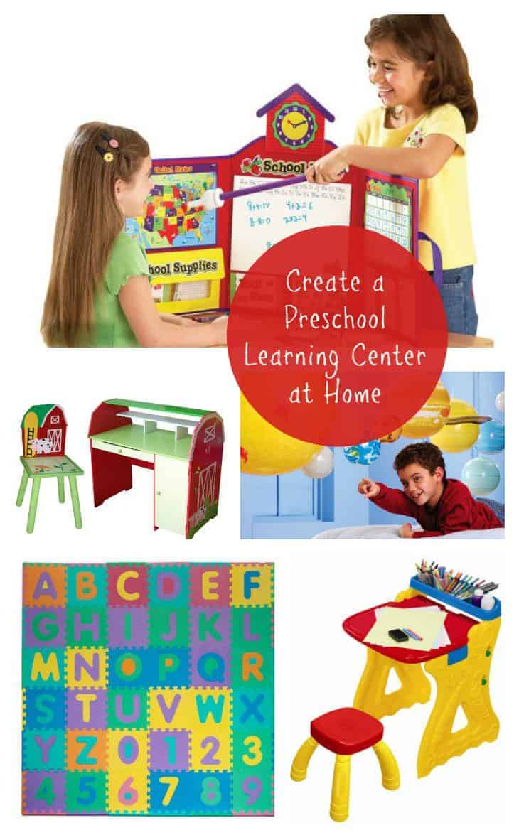 Creating a preschool learning center in your home is a great way to teach and reinforce new skills in your child. QVC's QCard can help make it more affordable!