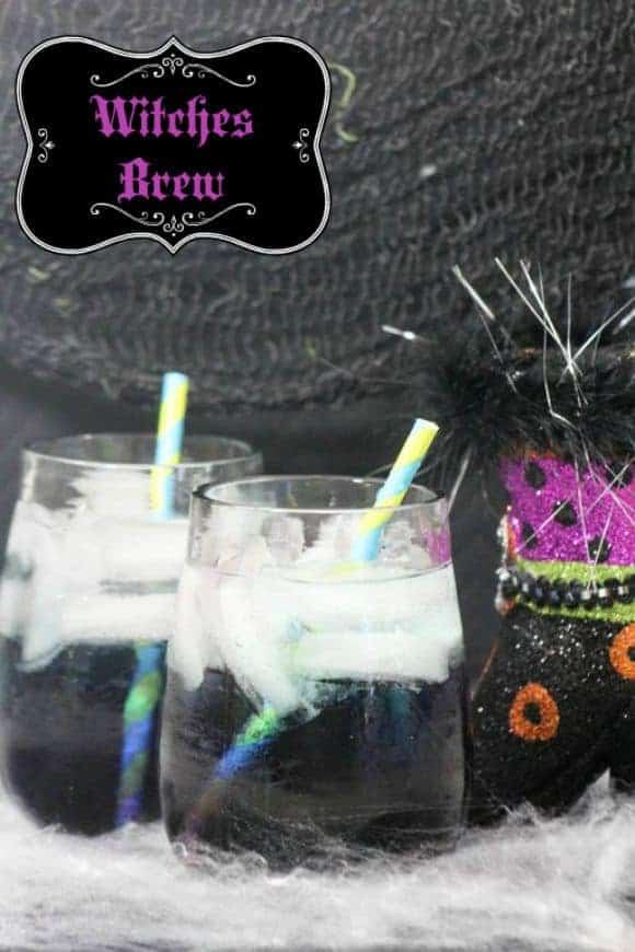 Double, double toil & trouble! It's time to bubble up a fun Halloween drink for kids! Make this Witches Brew in just a few minutes! Perfect for parties!