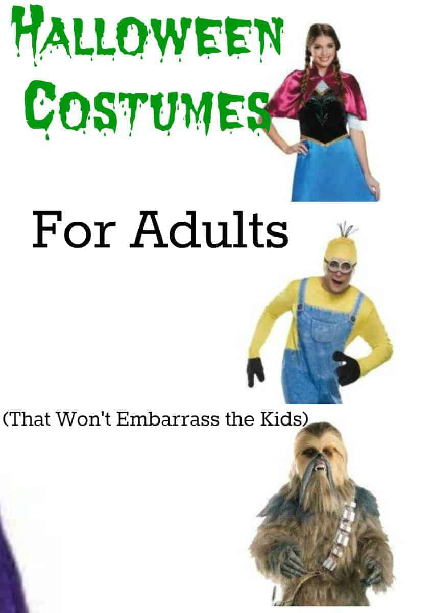 Don't want your kids to hide from you on Trick or Treat night because your get-up is so embarrassing? Check out these awesome Halloween costumes for adults!
