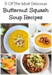 Fall has me dreaming of warm and comforting soups. We have rounded up five of the most delicious butternut squash soup recipes for your dinnertable.