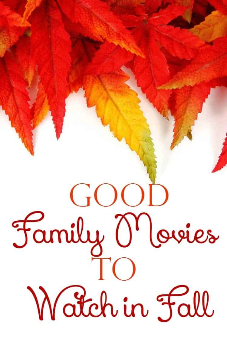 Looking for good family movies to watch in fall? Check out our top picks for the best family films to catch up on while snuggling under the blankets!
