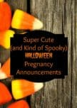Looking for a fun way to take advantage of Halloween & announce your pregnancy? There are so many fun ways to make creative Halloween pregnancy announcements!