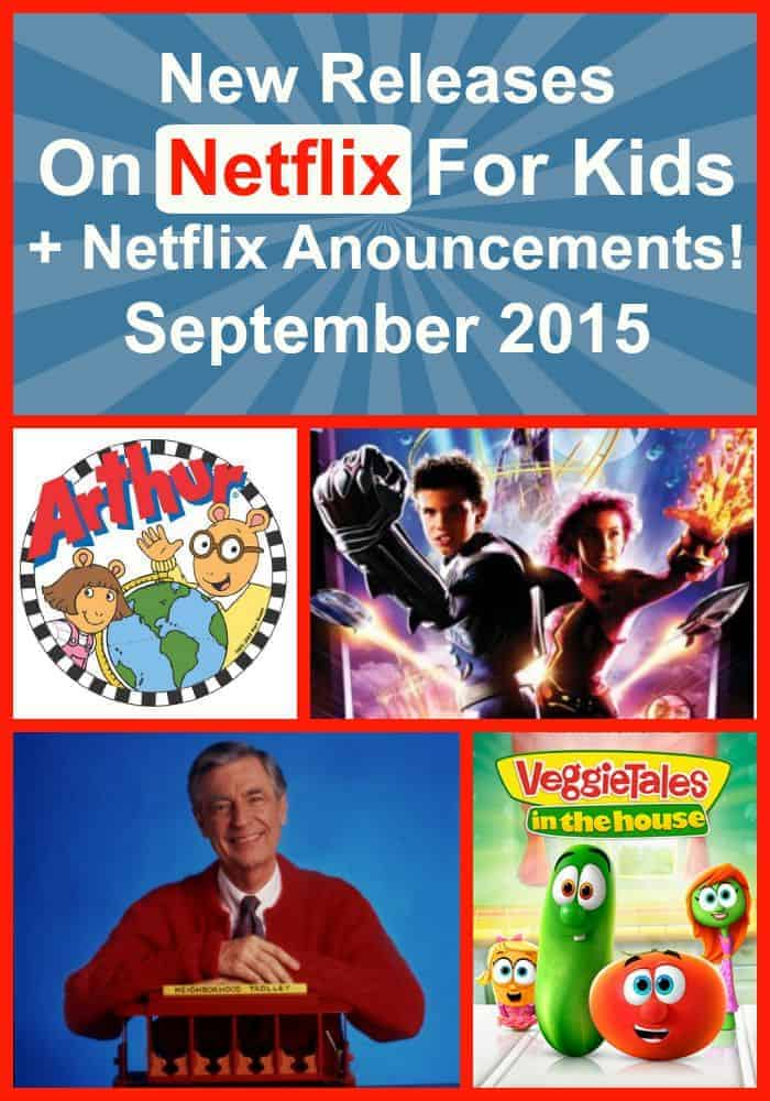 The new releases on Netflix have are out and we have the scoop! Check out the new family movies and shows for kids that are streaming in September.