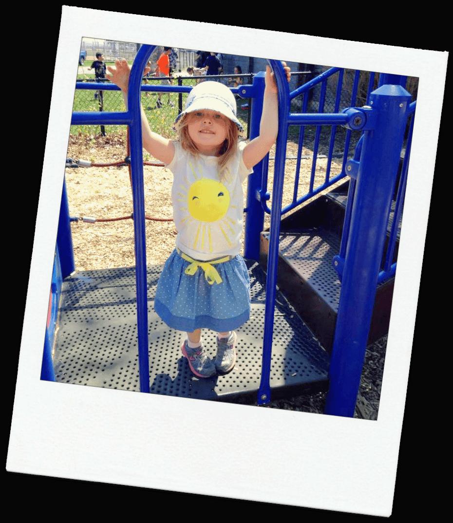 playground Hailey poloroid