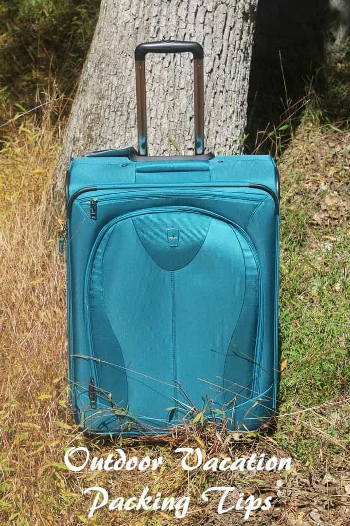 Planning an outdoor family vacation? Check out our tips for packing like a pro! One of our secrets? Atlantic Luggage 21