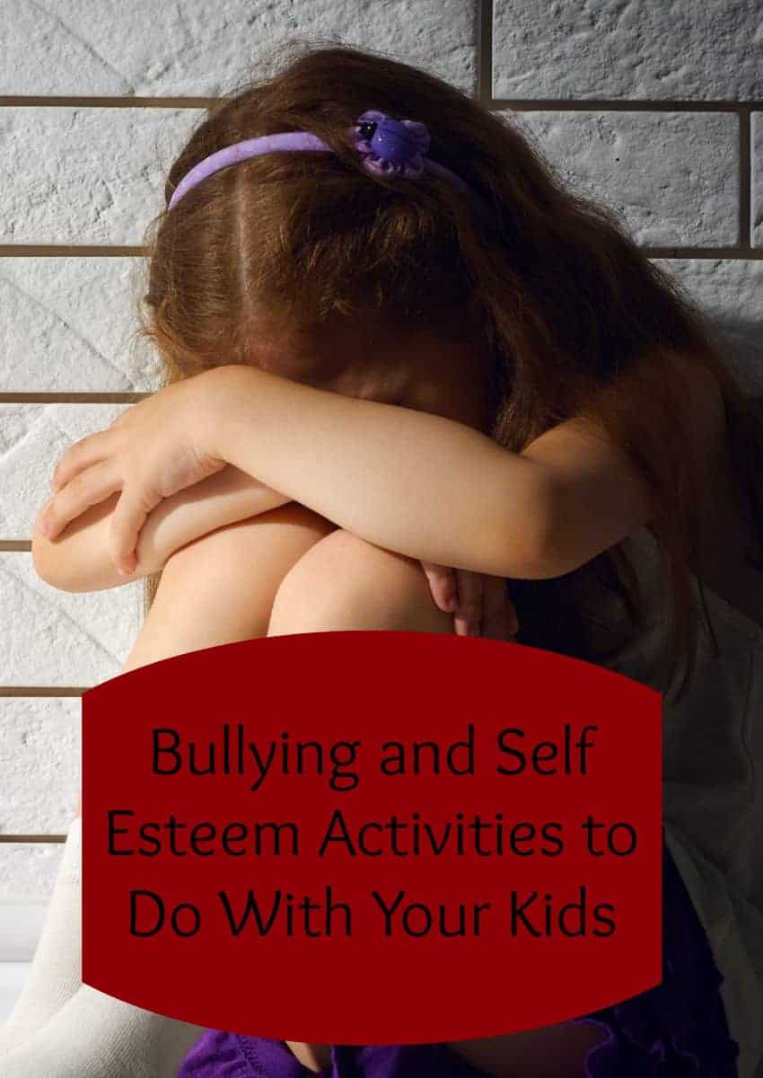 Bullying and self esteem have such a huge impact on each other. By building up your child, you can actually help prevent bullying! Check out these activities!