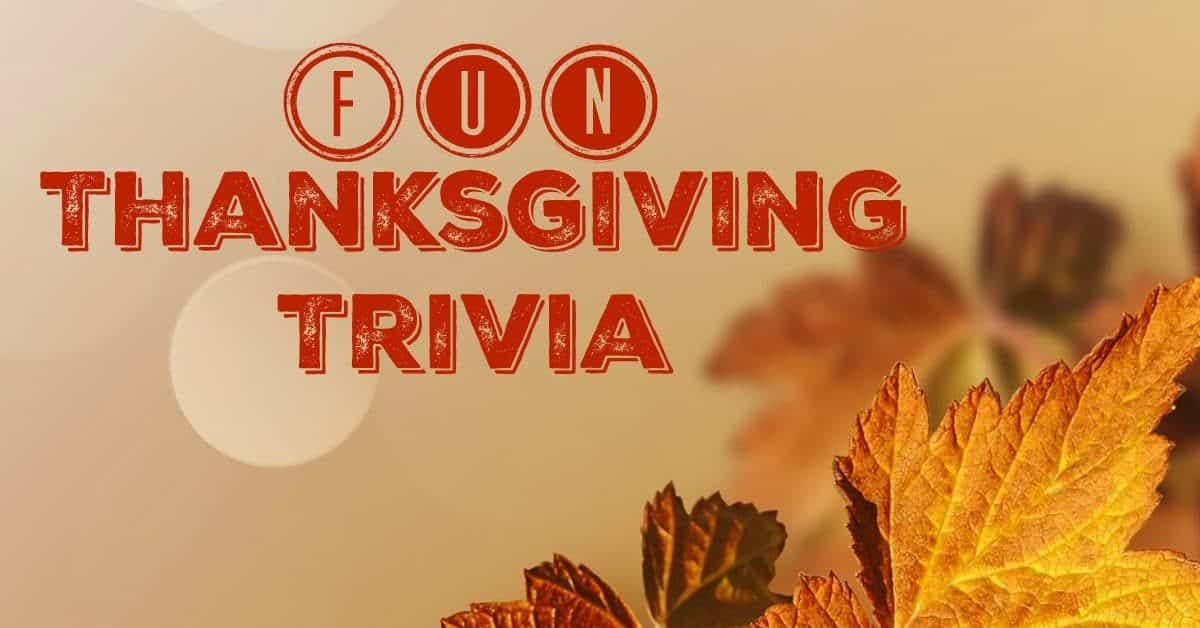 Looking for a few fun facts about Thanksgiving for that big family trivia game after the turkey dinner? Check out these great bits of info you didn't know!