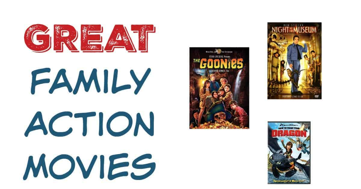 good family action movies
