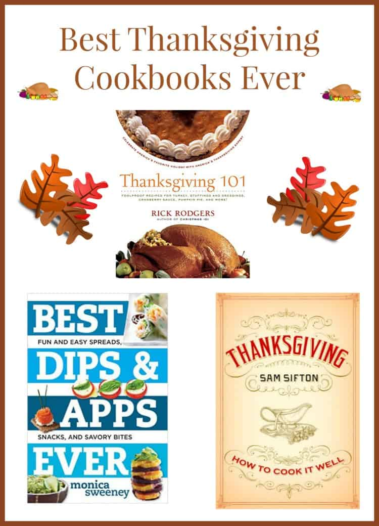 The best cookbooks for Thanksgiving can really help you perfect your must-have Thanksgiving foods and even find a few new favorites. Check out our picks for the best of the best!