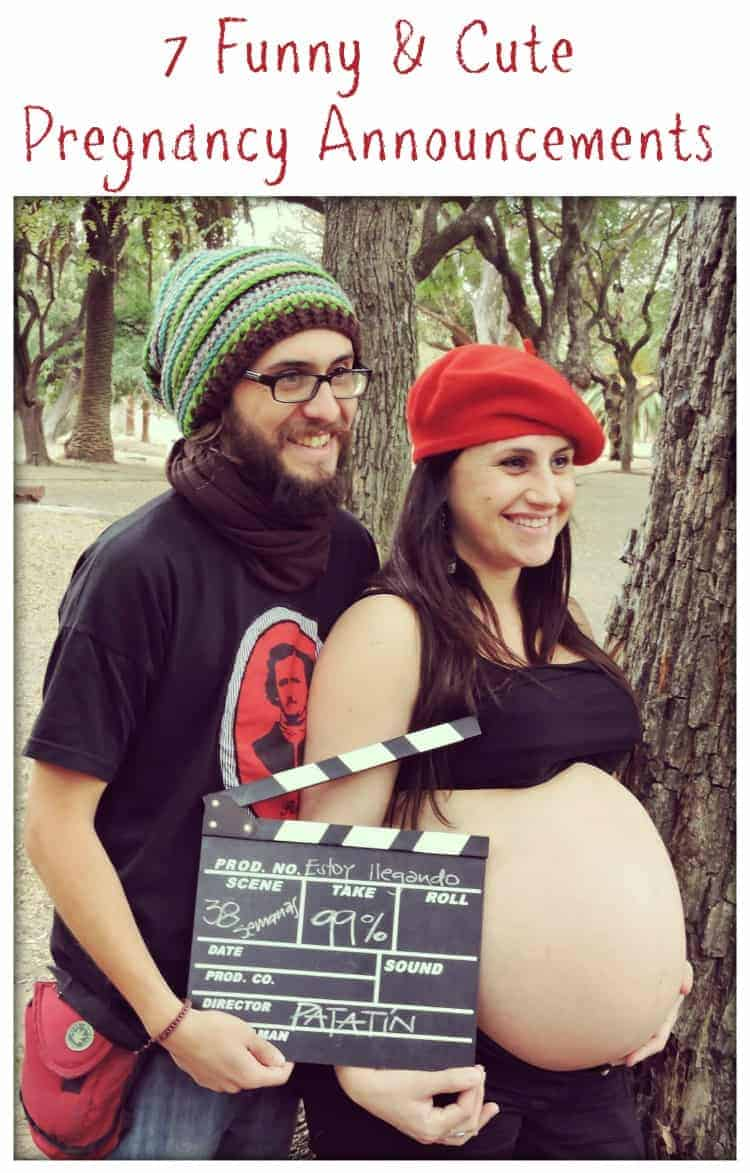 7 Super Funny And Cute Pregnancy Announcements