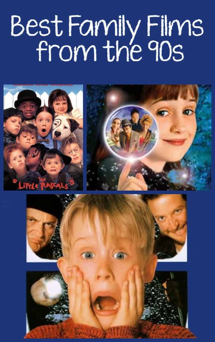 Looking for a few good family movies from the 90's to show your kids what was hot when you were younger? Check out our top favorites for movie night!