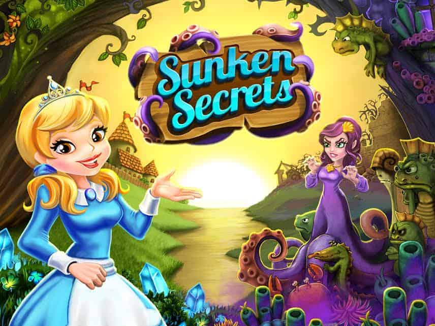 Looking for a fun magical farming sim game with beautiful graphics? Check out our Sunken Secrets review, then download it in the App Store!