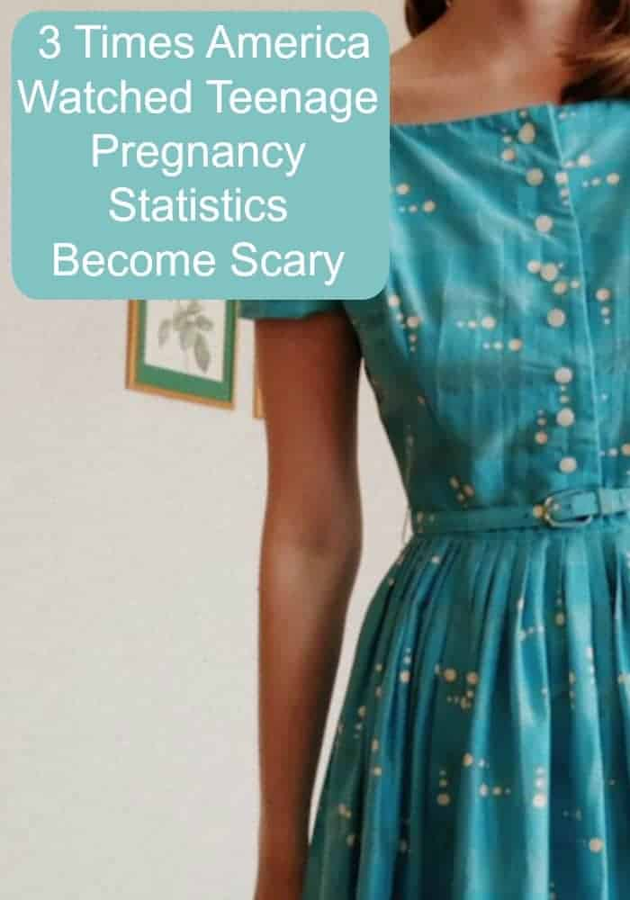 America has had a rough history with teenage pregnancy. There are three major times the statistics about teenage pregnancy became scary.