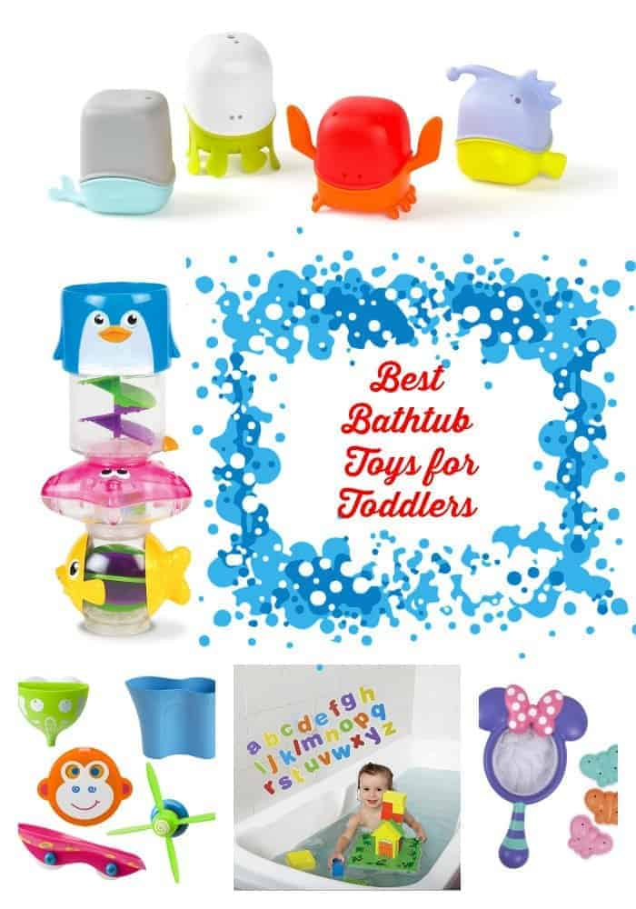 Want a tot that loves getting clean? Check out the best bathtub toys for toddlers that will make your little one love hopping in the tub at night!