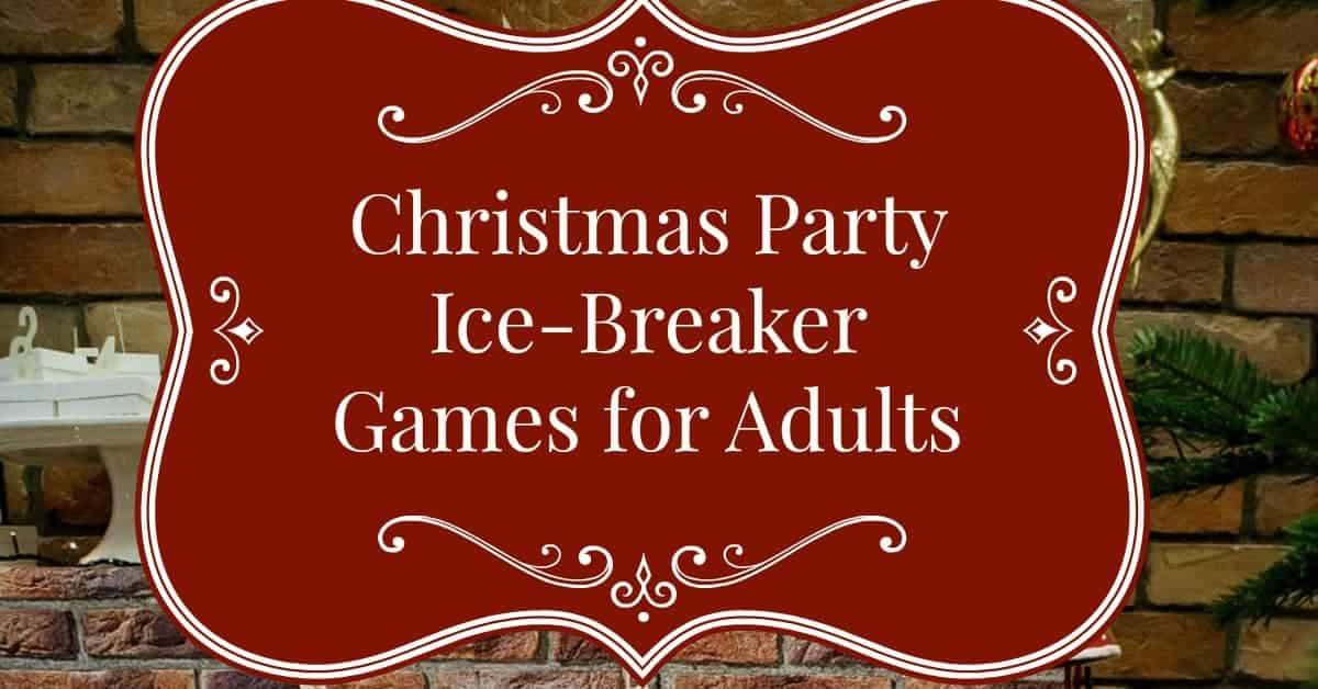 Christmas party games for adults for Fun ideas for adults
