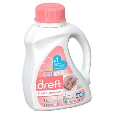 Dreft Stage 1: Newbown Liquid Laundry Detergent- 5 Things You Didn't Know You Needed for Your First Baby