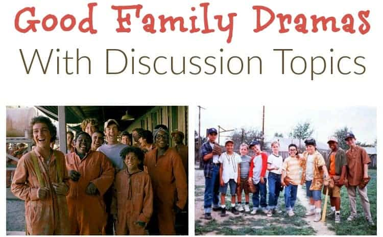 Some good family drama movies have such powerful themes, they open up a world of possible discussions after the credits roll. Check out our four favorites!