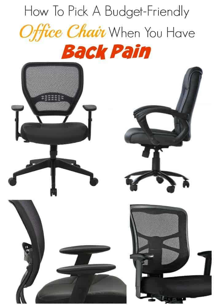Best Office Chairs For Back Pain On A Budget