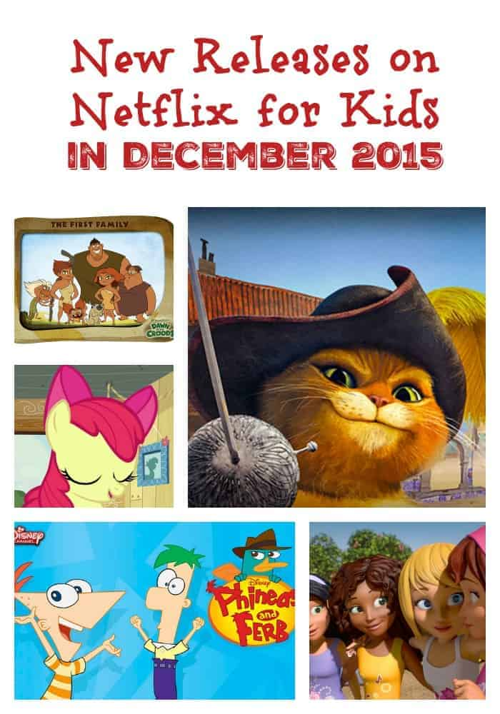 Looking for the best New Releases on Netflix for Kids in December 2015? Check out our list, filled with holiday  specials, fun programs & great educational shows!