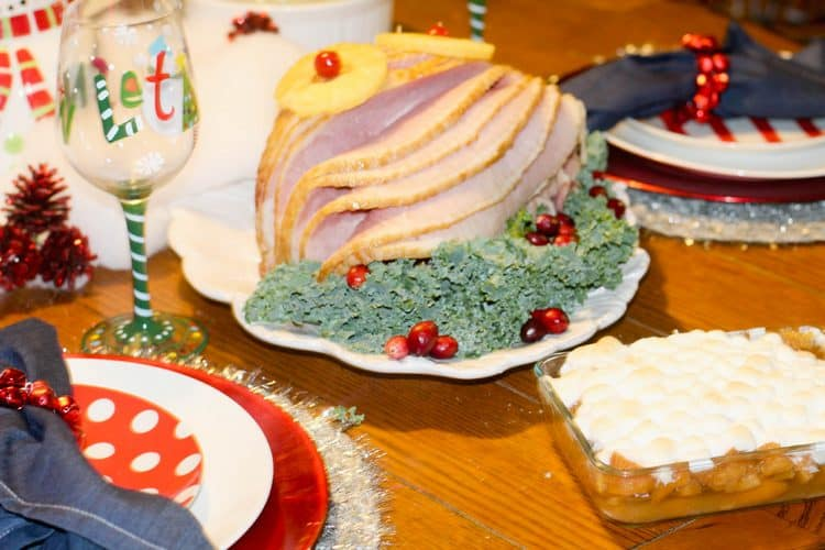 christmas-dinner-honey-glazed-ham
