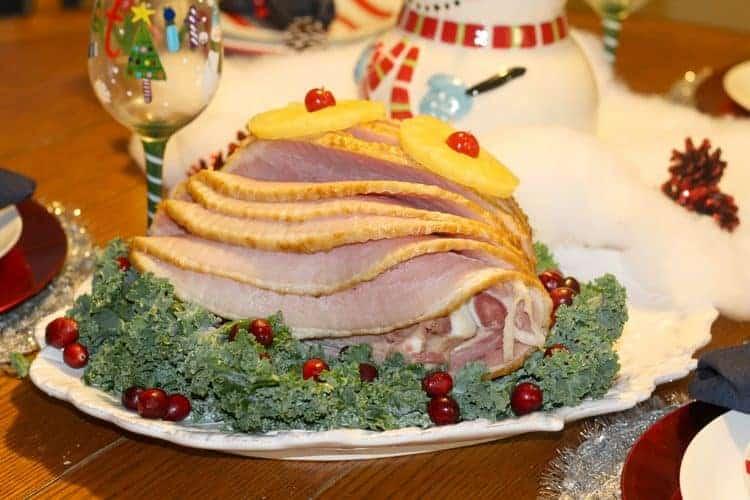 honey glazed ham christmas dinner recipe (1 of 1)-3
