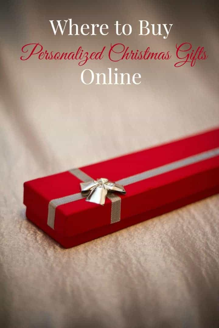 Where To Buy Personalized Christmas Gifts Online