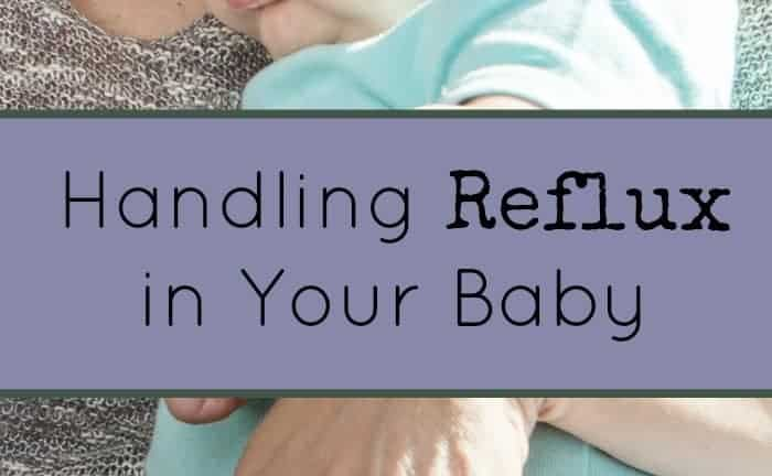 Does your baby spit-up more than normal? There's a chance it could be more than just average spit-up. Here are some tips on handling reflux in your baby.