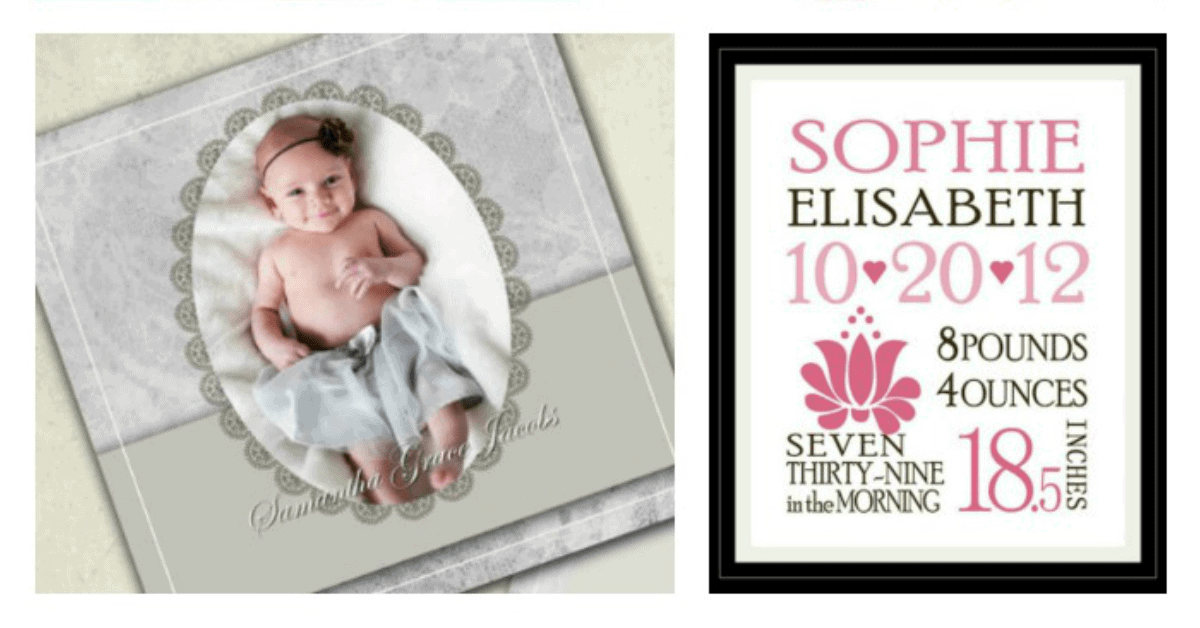 5 Places To Find Downloadable Birth Announcement Templates Our – Free Birth Announcement Templates Photoshop