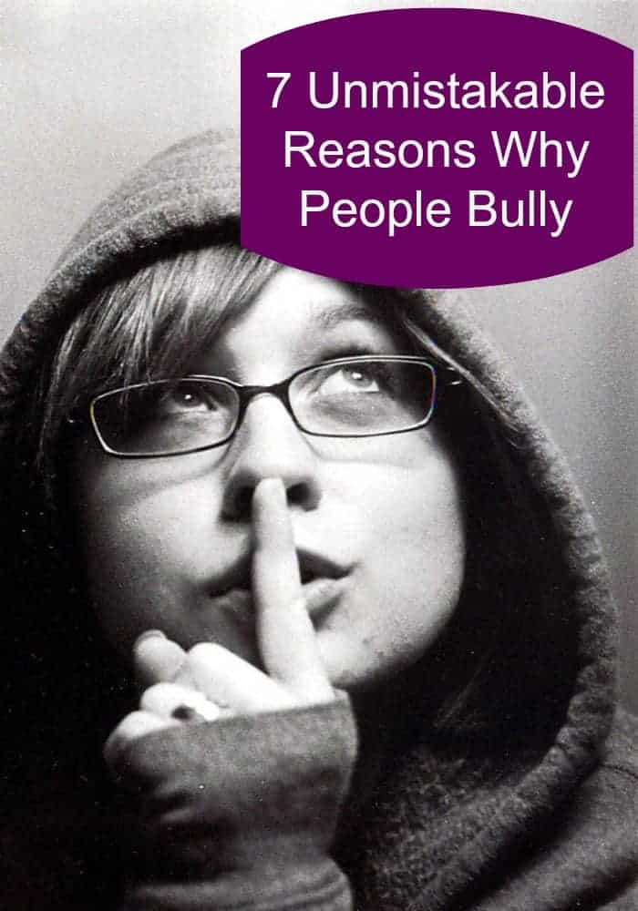 People can be mean! We investigate the reasons why people bully and some of the unmistakable types of bullies.