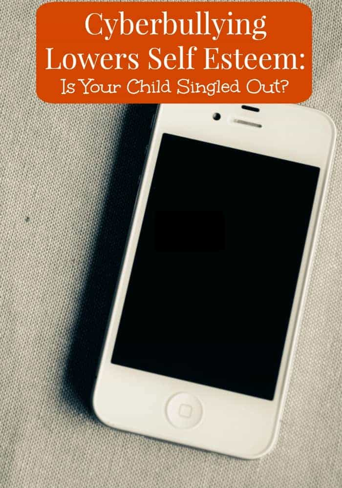 Take a closer look at how cyberbullying lowers self esteem and singles kids out. How is your child affected by cyberbullying?