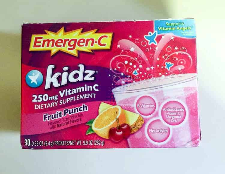 Busy moms and picky kids agree, EMERGEN-C Kidz is a delicious and convenient way to help your kids get their vitamins!