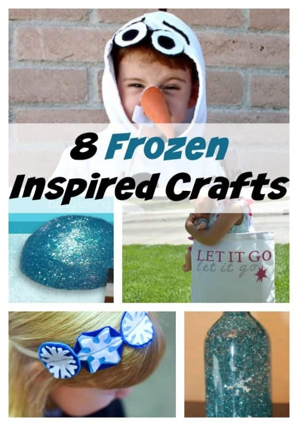 Adorable Frozen Crafts to make after watching Good Family Disney Movies