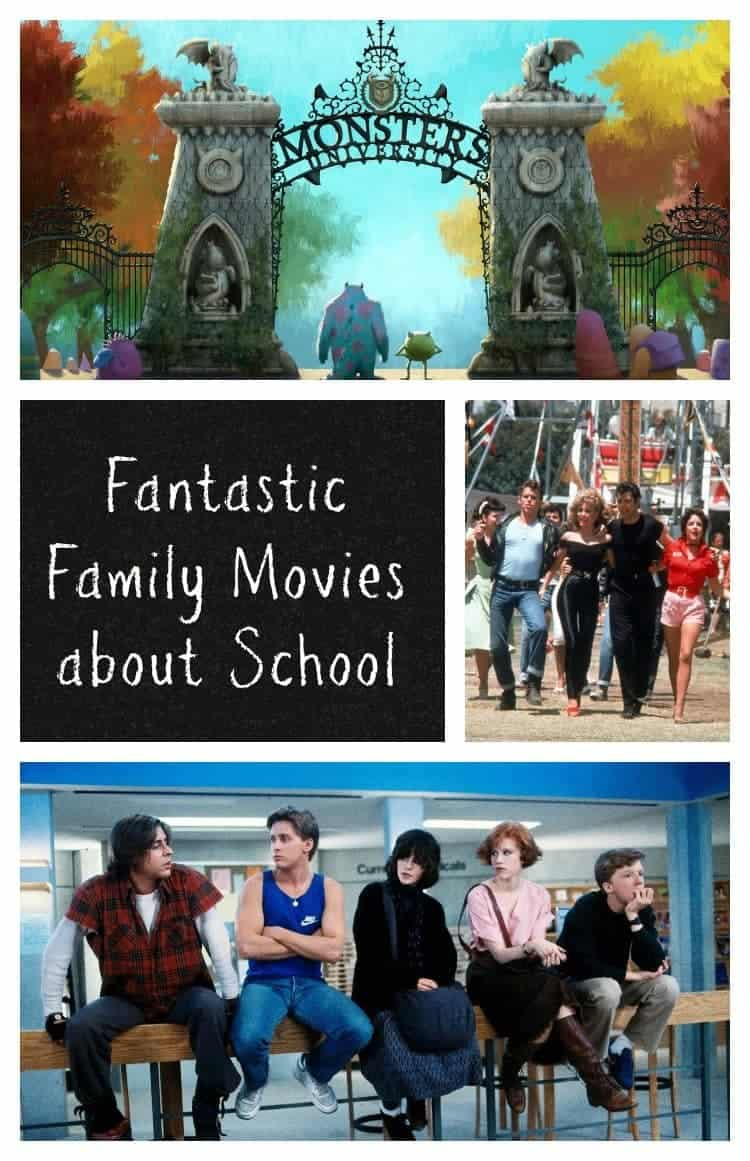 Watching good family movies about school together can be a great way to connect with your kids! Check out a few of our favorites!