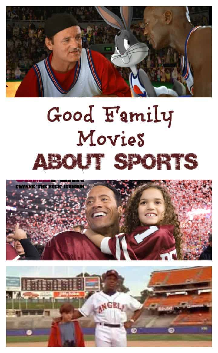 Good family movies about sports are a great way to bridge the gap between interests on family movie night! Check out our favorites!