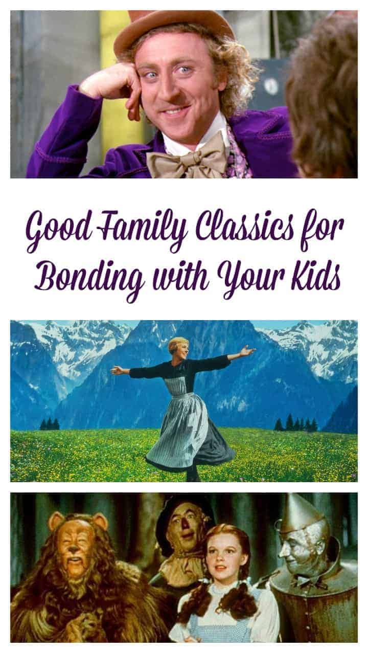 Watching good family classic movies with your kids is a great way to bridge the generation gap & share a bit of your own history! Check out our favorites!