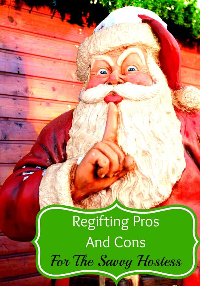 Get a gift that you don't want? Before you pass it off to your neighbor, consider regifting pros and cons with our savvy tips.