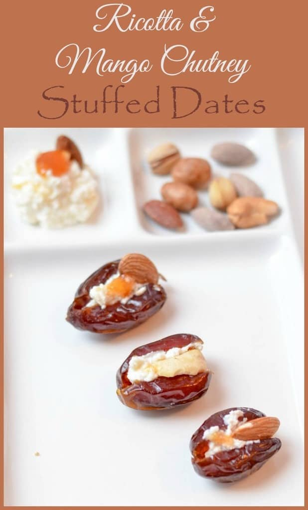 ricotta-mango-chutney-stuffed-dates-holiday-appetizer-recipe