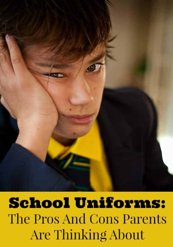 school uniform essays pros and cons Should students wear schools uniforms read pros and cons in the debate x understand the issues understand each other school uniforms also prevent students from concealing weapons under baggy clothing.