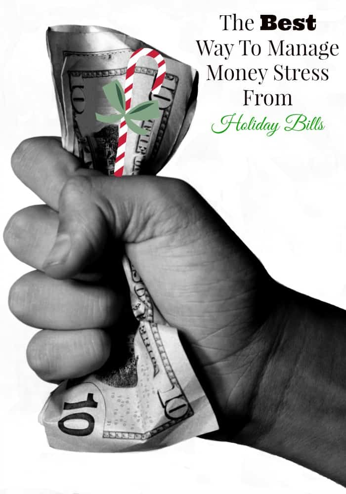 The holidays are over, but the bills and credit card debt may still be lingering. Use our ideas to manage money stress from holiday bills.