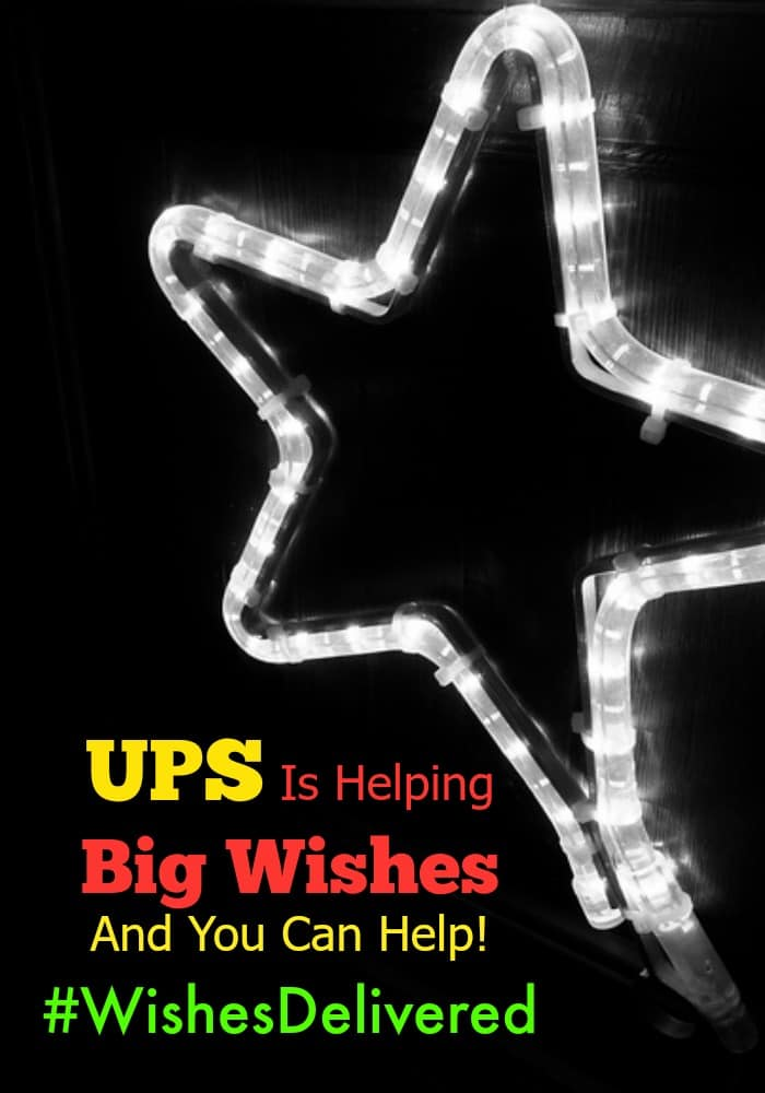 There is no better time than the holidays to hit pause on your own life, and help be a light for someone else. Go to Twitter or Instagram, use the  #WishesDelivered hashtag to share your inspirational story, and UPS will donate a $1 to charity up to $150,000! #ad
