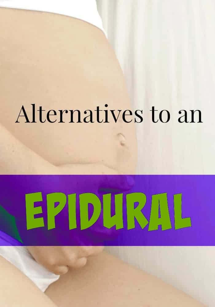 epidural Are there alternatives to an epidural during labor? The good news is yes there are! Check out a few other pain relief options to consider during childbirth.