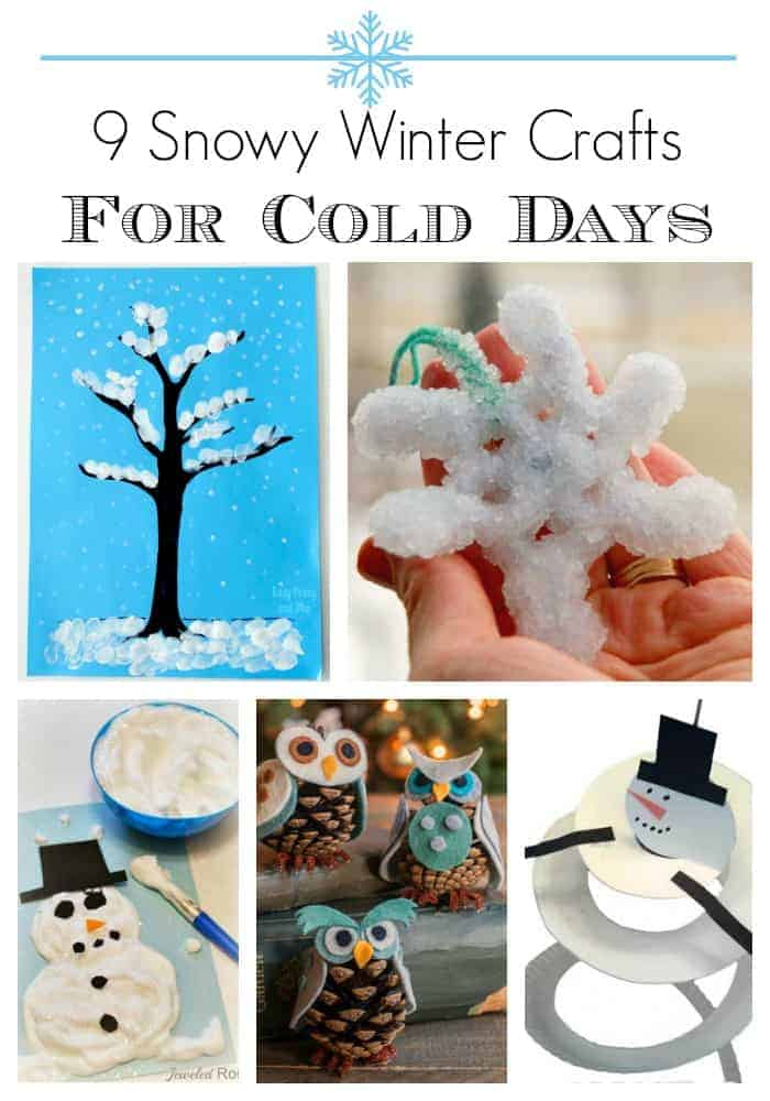Check out all of these cute winter crafts to keep your kids busy and having fun on cold winter days. You have to see these adorable ideas!