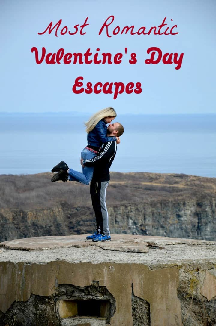 Need a romantic getaway? Get ready to reconnect with your partner away from the hustle and bustle of everyday life at one of these best Valentine's Day escapes for 2016!