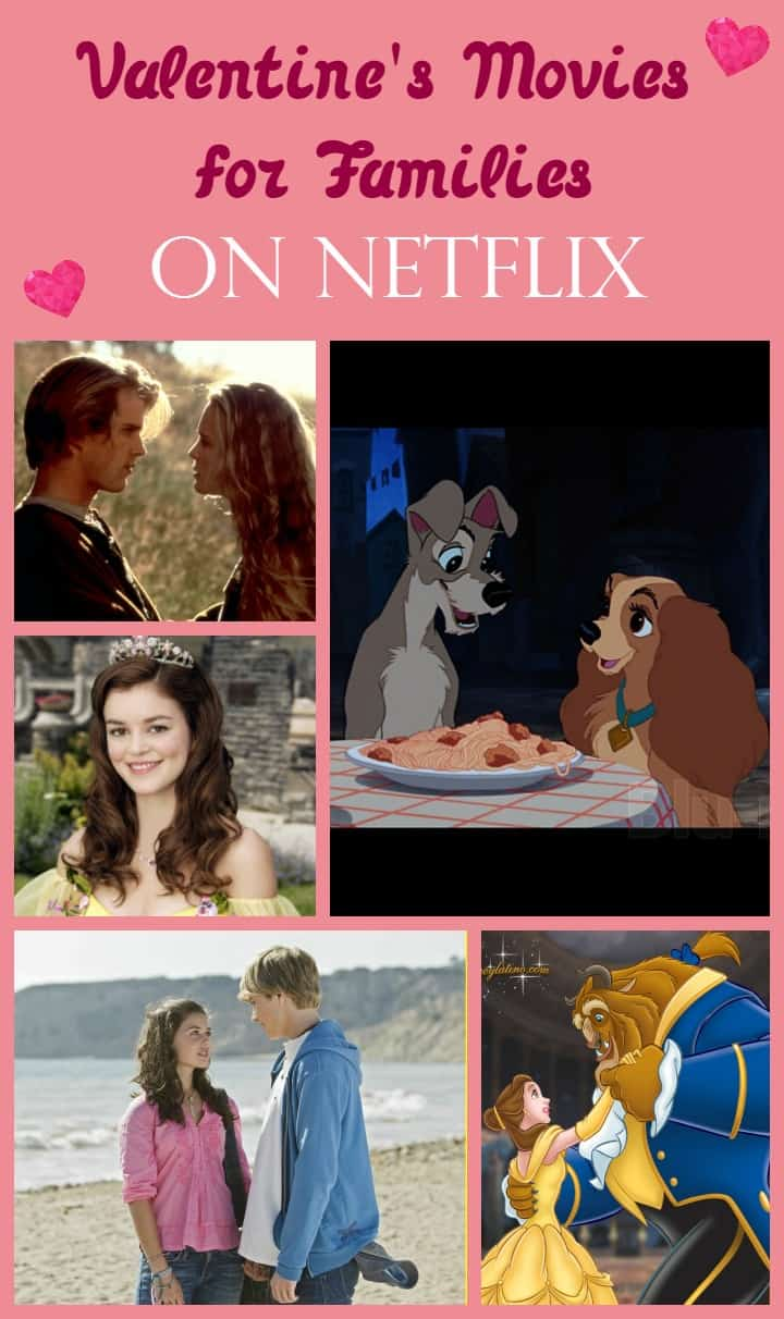 Valentine's Day is a great time to get the family together for a night of movies. Check out our favorite Valentine's Day movies on Netflix for families!